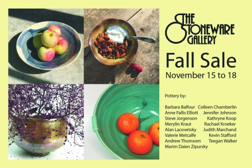It's that time of year…holiday shopping and the Stoneware Gallery sale