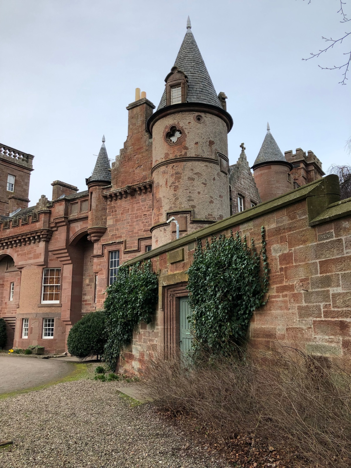 Arrived at Arbroath and Hospitalfield House