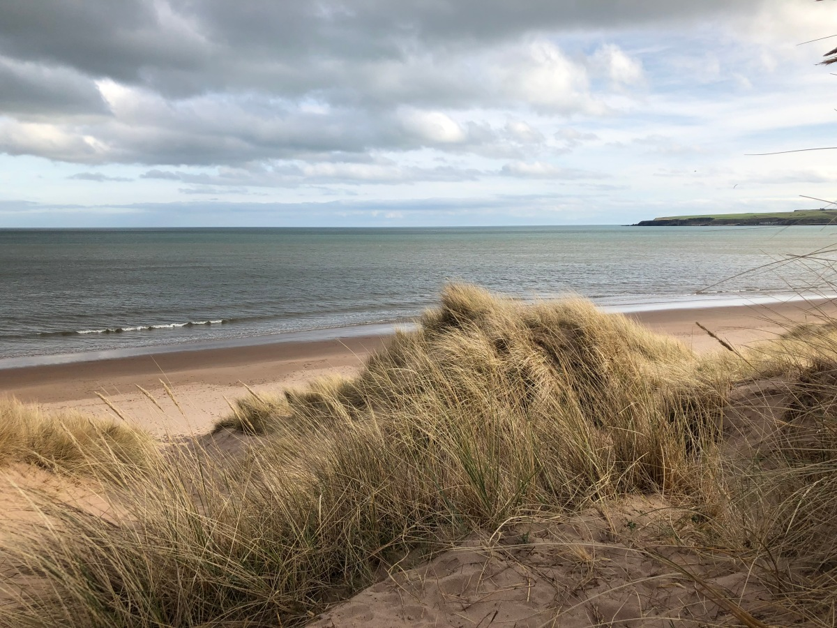 Lunan Bay and Red Castle